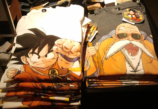 Camisetas Dragon Ball 1