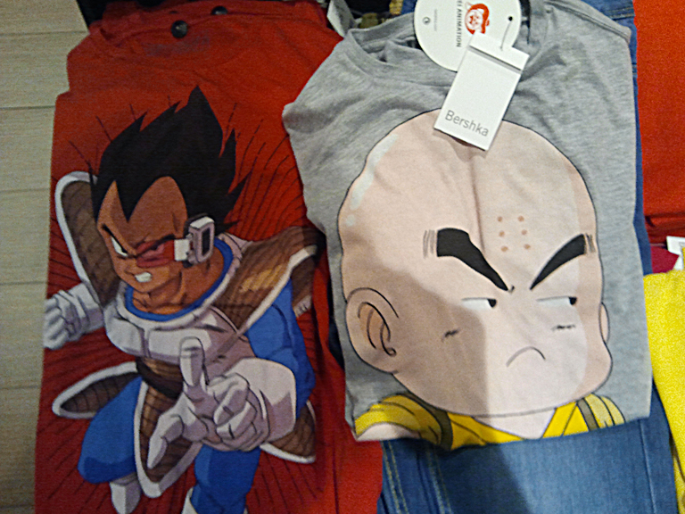 Camisetas Dragon Ball 2