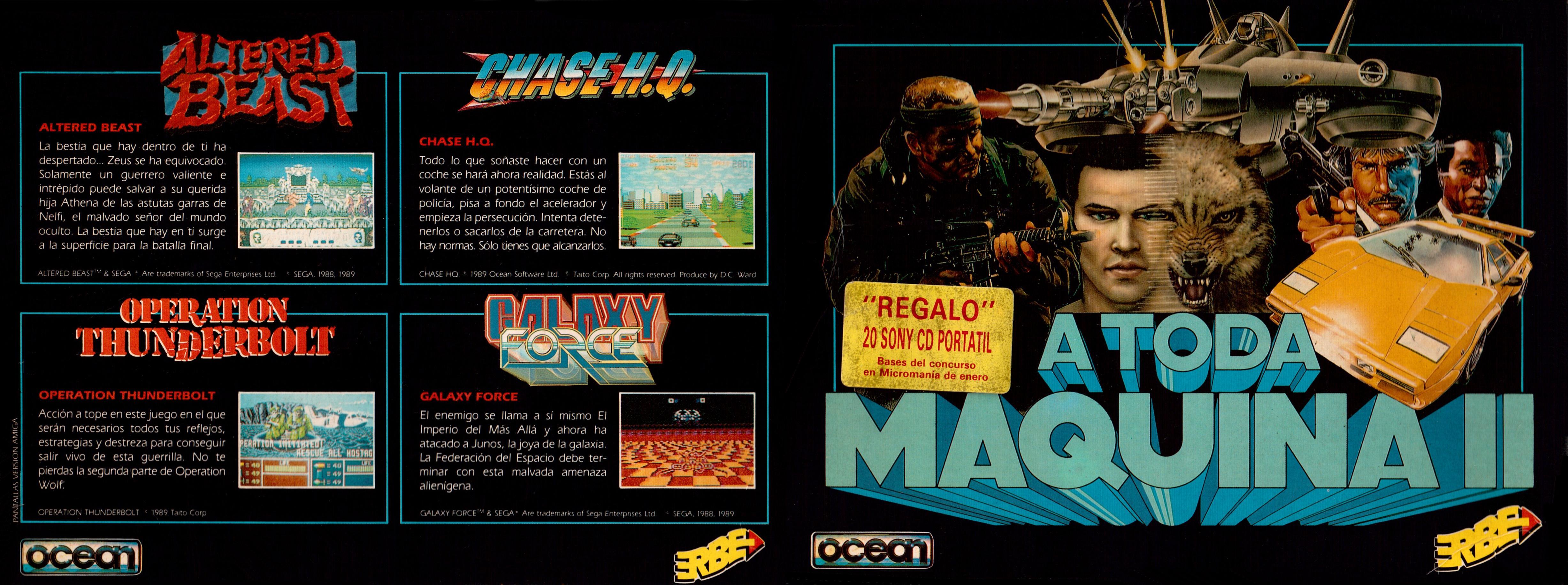 """Este pack lo tuve idéntico en Commodore64 (pero tengas el de Spectrum, CPC o c64, si hacéis zoom, veréis que las pantallas eran """"versión Amiga"""")"""