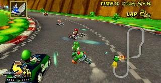 Las motos eran más rápidas que los Karts, pero mas difíciles de llevar.