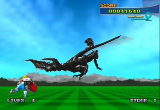 spaceharrier gameplay