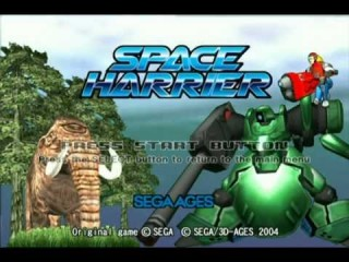 spaceharrier intro