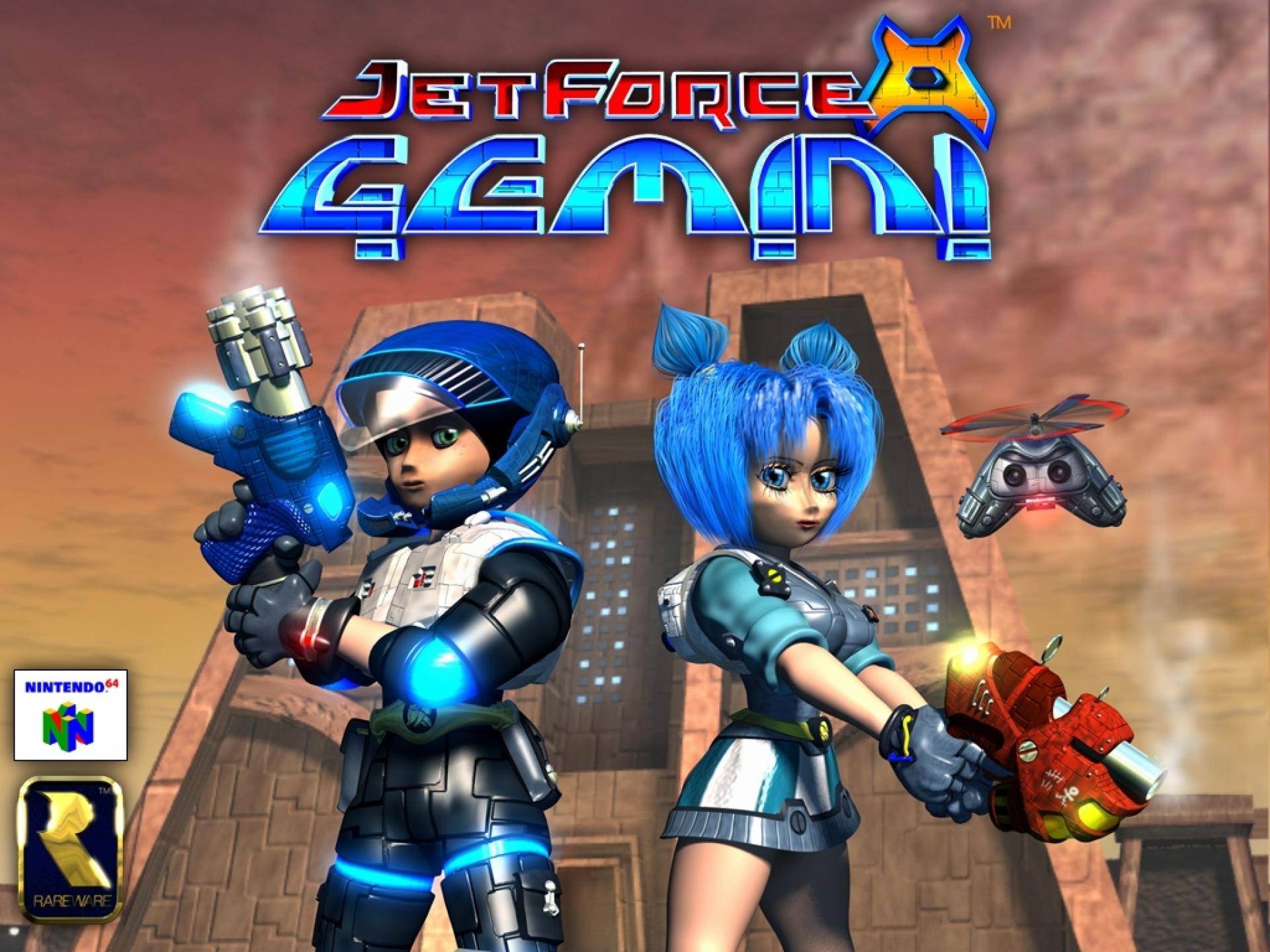 Jet Force Gemini Pixelacos